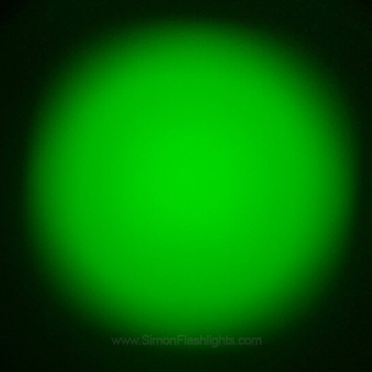Flashlight 34 mm Green Deffuser Lens